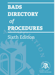 BADS Directory of Procedures 6th Edition Cover